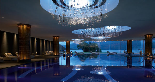 The Europe Hotel & Resort  Top 10 Luxury Hotel Designers ESPA at the Europe Pool klein