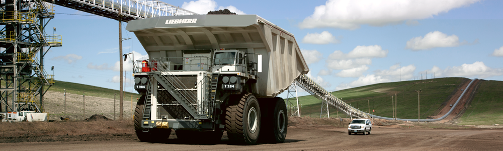Liebherr At Minexpo 2012 Exhibits T 284 Mining Truck