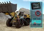 Integral tyre pressure monitoring system