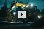 Liebherr - The railroad excavator A 922 Rail Litronic