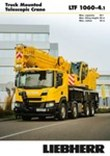 Product advantages - Truck-mounted telescopic crane LTF 1060-4.1