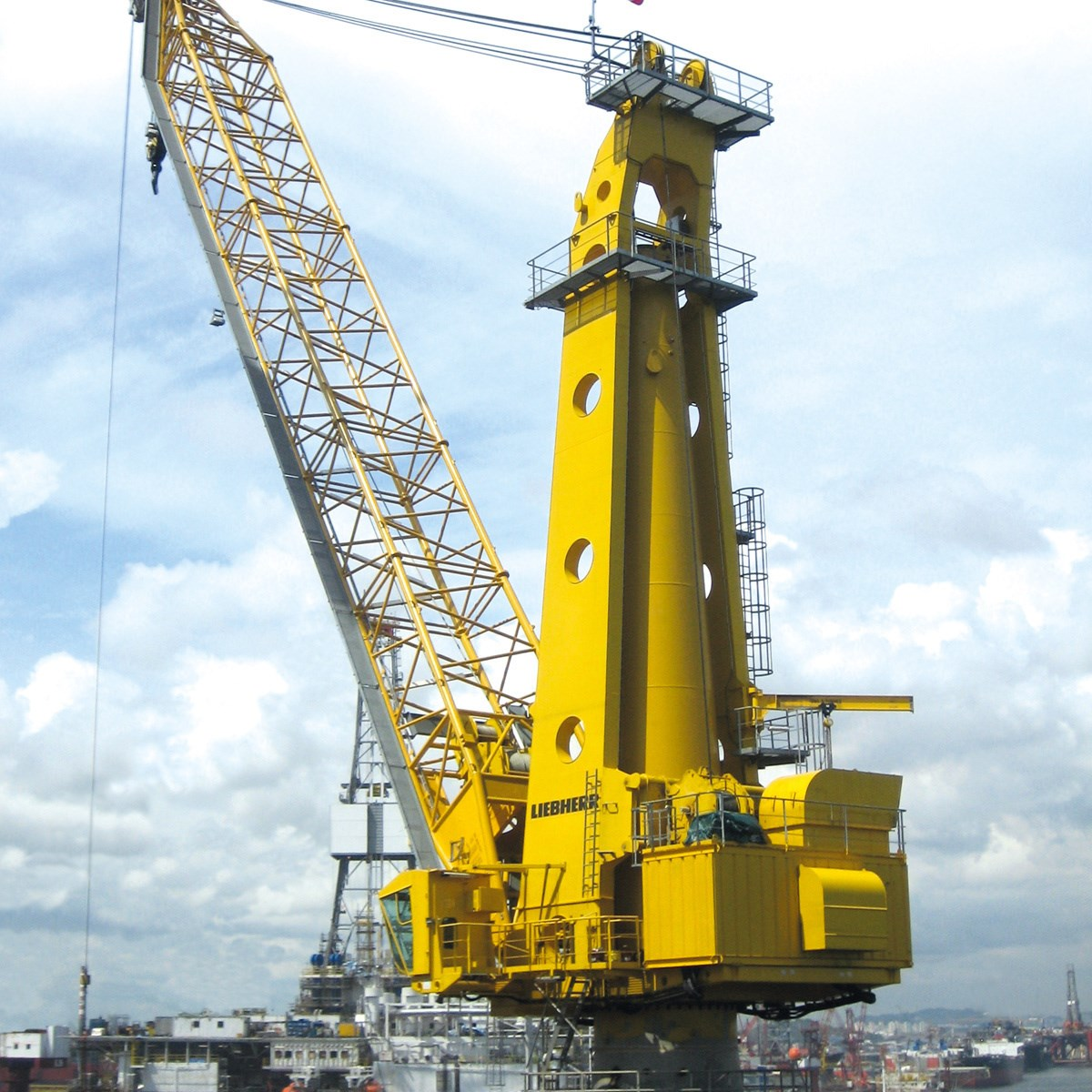 Mtc 6000 offshore cranes liebherr for The crain