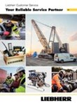 Customer service for crawler cranes and foundation machines