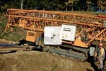 42 KR.1 fast-erecting crane on crawler-track undercarriage