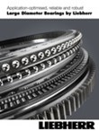 Large diameter bearings by Liebherr