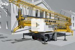 3D animation: 22 HM mobile fast-erecting crane