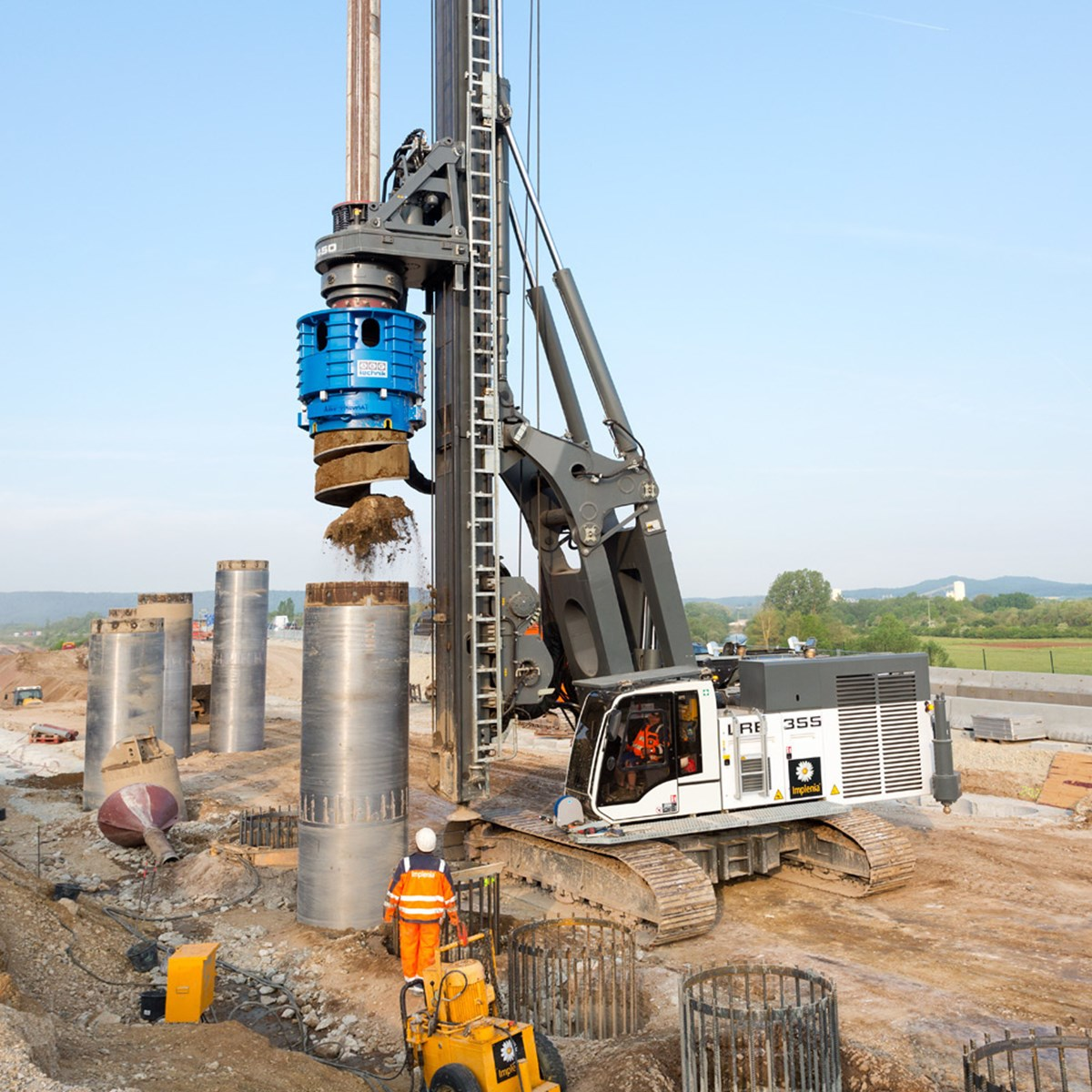 Lrb 355 Piling And Drilling Rig Liebherr