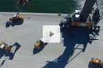 Video L 586 XPower en application de la manutention du portuaire