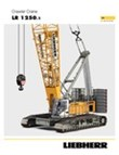 Technical data - LR 1250.1 crawler crane