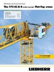 Modular and economical. The 172 EC-B 8 Litronic Flat-Top crane.