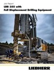 Job report LRB 355 full displacement drilling in Botero, Kolumbia