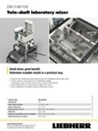 Data sheet for twin-shaft laboratory mixer DW 0.06/100