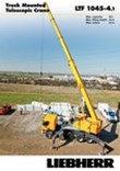Product advantages - Truck-mounted telescopic crane LTF 1045-3.1