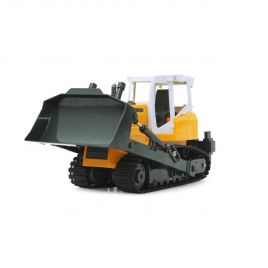 Toy RC crawler tractor.