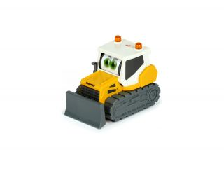 Toy crawler tractor.