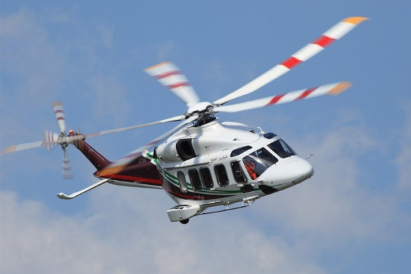 Liebherr systems are on board the AW189 helicopter - Photo : Leonardo (Helicopters)