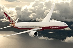 Liebherr provides the folding wing tip system for the Boeing 777X - Photo : Boeing