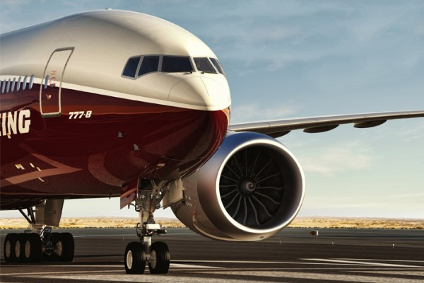 Liebherr systems on bord the Boeing 777X - Photo: Boeing