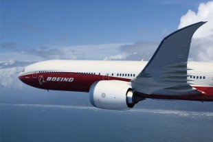 Liebherr provides the leading and trailing edge actuators of the B777X - Photo : Boeing