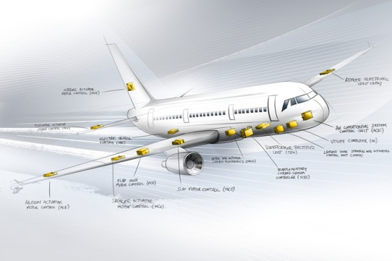 Liebherr offers on-board electronics from nose to tail.