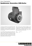 "Datasheet ""Synchronous Alternators GSD-Series"""