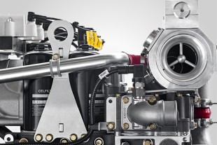 Gas engines by Liebherr are supplied ready for installation