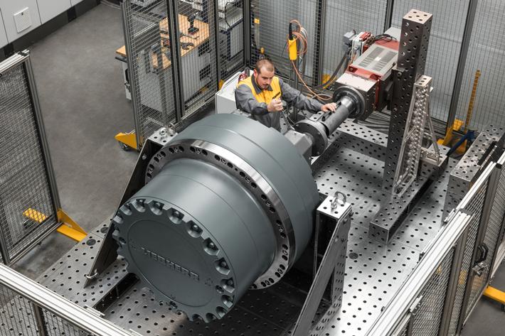 LPI gearbox series-production range - Liebherr