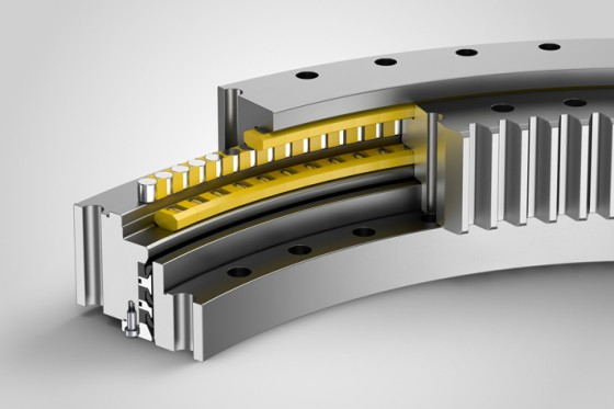 Triple-row roller bearings with special seals