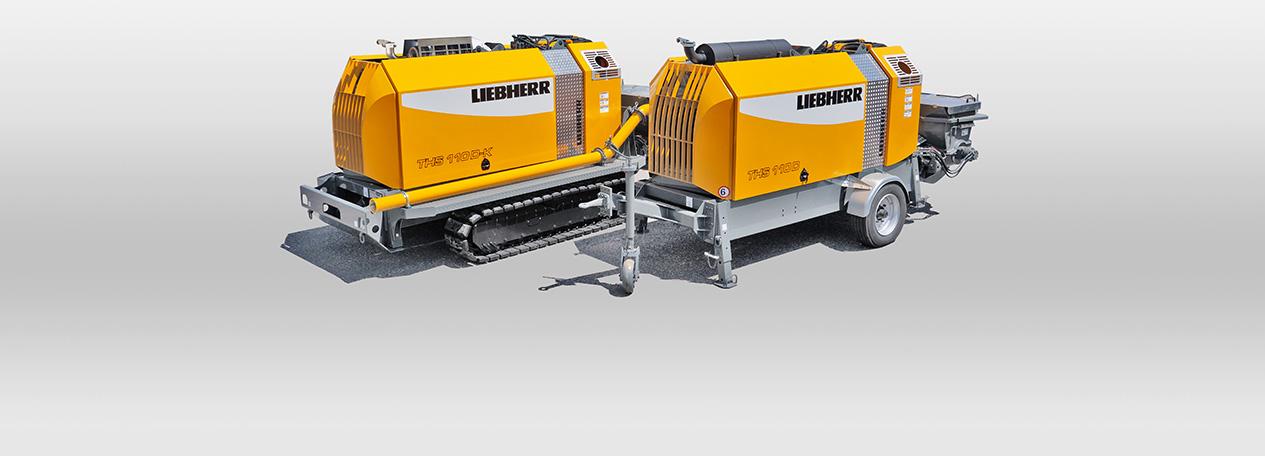 Concrete pumps - Liebherr