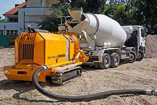 Stationary concrete pumps - Liebherr