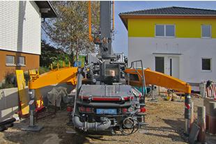 Truck mounted concrete pumps - Liebherr
