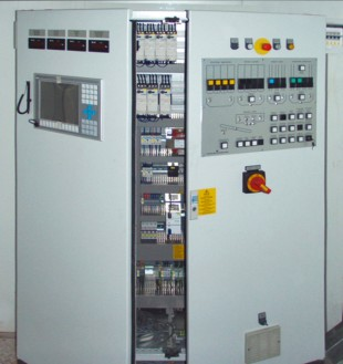 The Liebherr Litronic BCS is housed in the switch cabinet to save space.