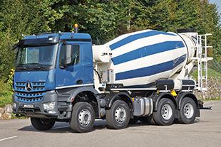 Truck mixer - Liebherr