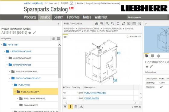 myliebherr \u2013 spare parts catalog liebherr Easy Wiring Diagrams catalog