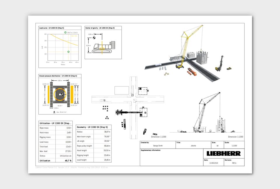 Crane Planner 2 0 - Liebherr