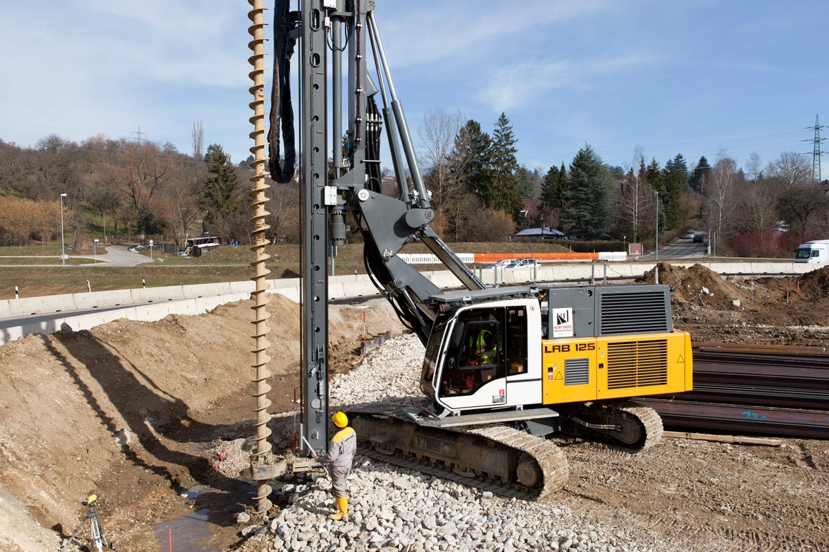 Boring Building Material : Continuous flight auger drilling methods for