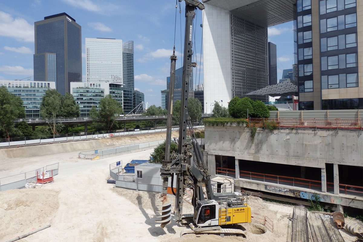 Drilling methods for deep foundation - Liebherr