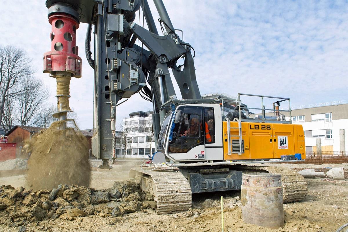 Drilling methods for deep foundation - Liebherr