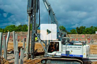 Piling methods for deep foundation - Liebherr