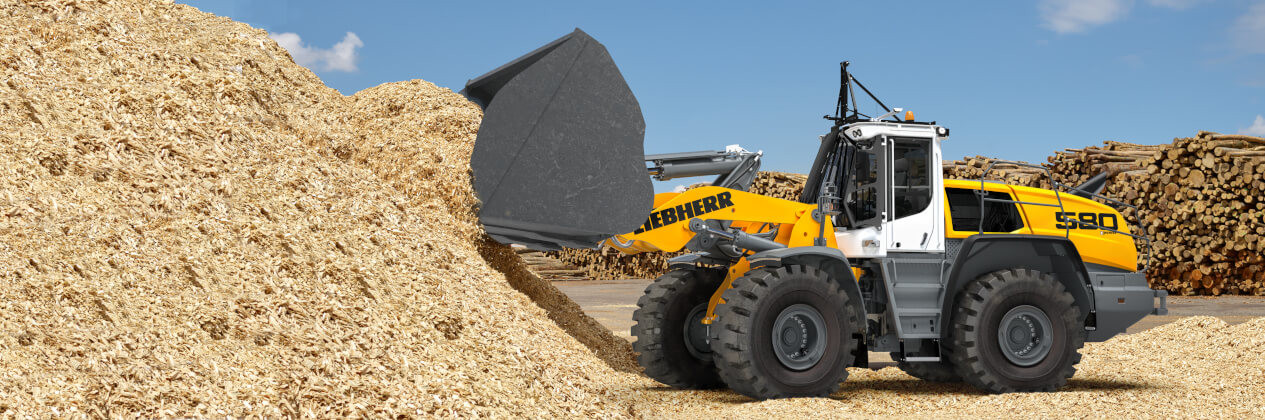 Material handling equipment - Liebherr