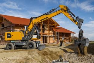 Wheeled excavators - Liebherr