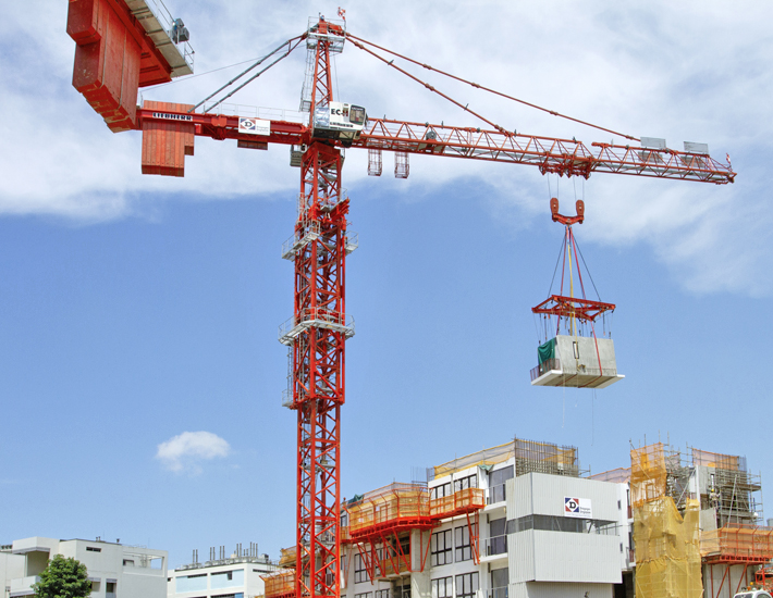 Liebherr Tower Cranes: Building with concrete modules made easy