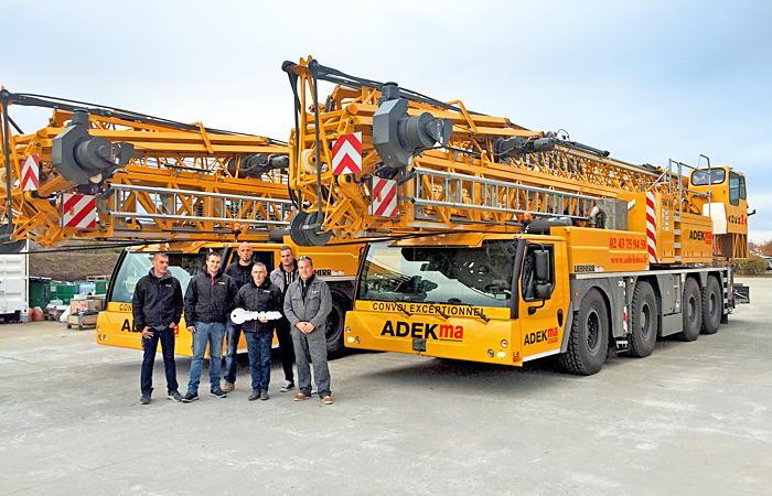 Delivery of Liebherr mobile construction cranes - Liebherr