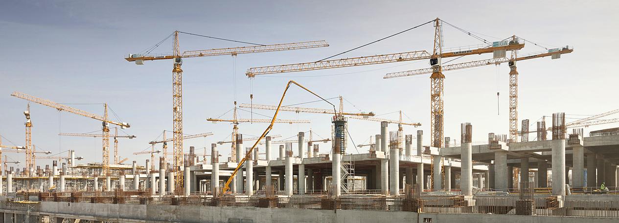 tower cranes liebherr