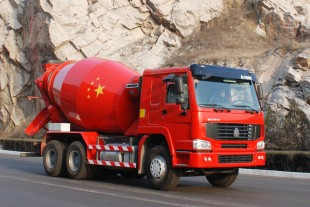 Liebherr concrete mixer trucks conquer the Chinese market.