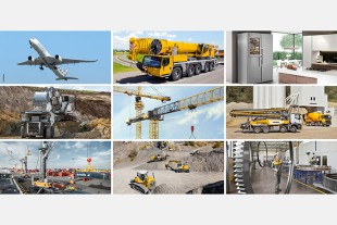 Record turnover: Liebherr reaches the €10 billion mark in 2018.