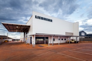 Office of Liebherr-Australia Pty. Ltd. in Newman