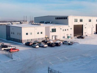 Office of Liebherr-Canada Ltd. in Fort MacKay