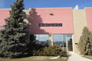 Office of Liebherr-Canada Ltd. in Winnipeg