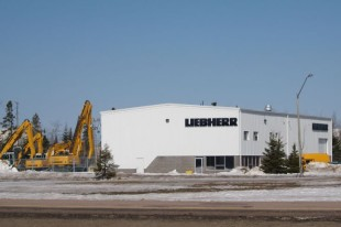 Office of Liebherr-Canada Ltd. in Moncton